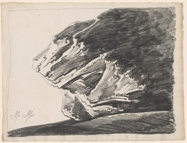 A Bizarre Rock Formation