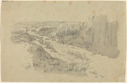 A Path through Fields near Leipzig