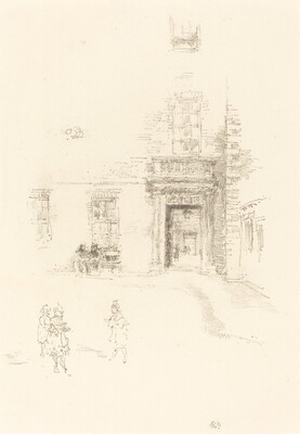 Courtyard, Chelsea Hospital