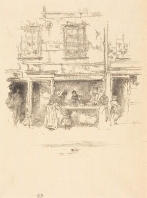 Maunder's Fish Shop, Chelsea