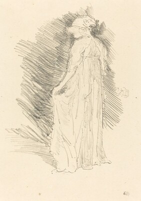 The Draped Figure, Back View