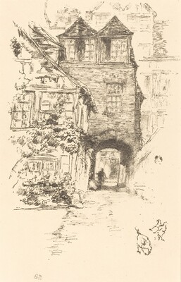The Priest's House, Rouen