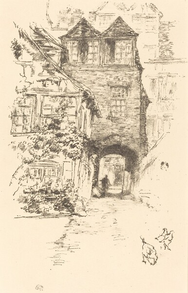 The Priest's House, Rouen