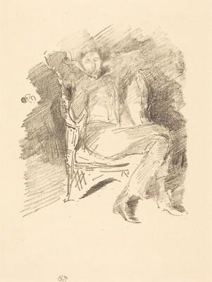 Firelight: Joseph Pennell, No. 1