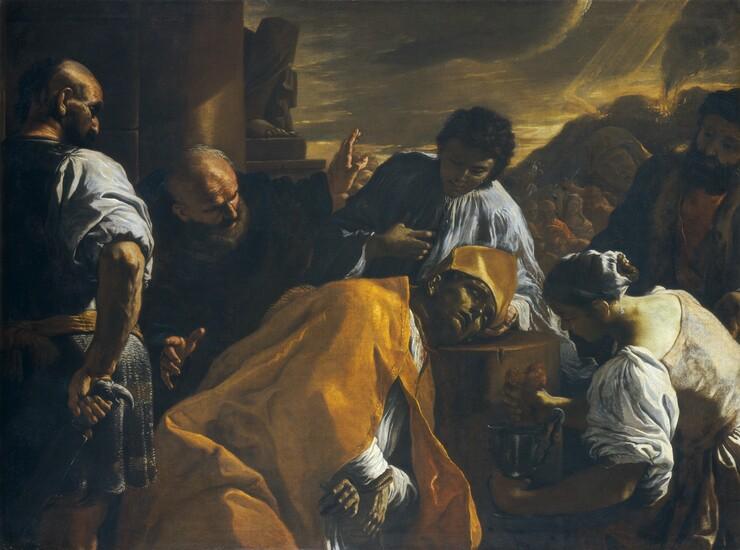Mattia Preti, The Martyrdom of Saint Gennaro, c. 1685c. 1685