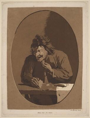A Peasant Eating