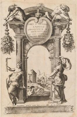 Libro Appartenente al Architettura [Title Page]