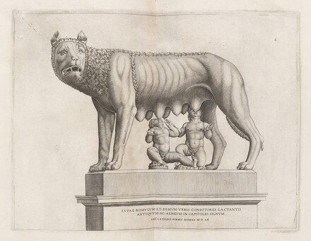 Capitoline Wolf with Romulus and Remus