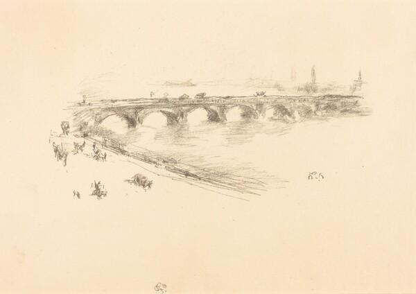 Evening, Little Waterloo Bridge