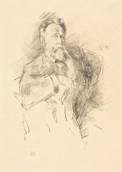 Sketch of William E. Henley