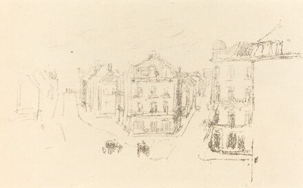 Trial Sketch: Grand Rue, Dieppe