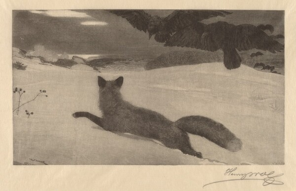 Winter, the Fox Hunt