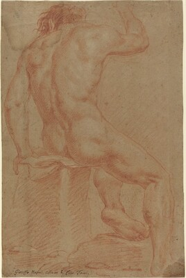 Nude Male Figure [recto]