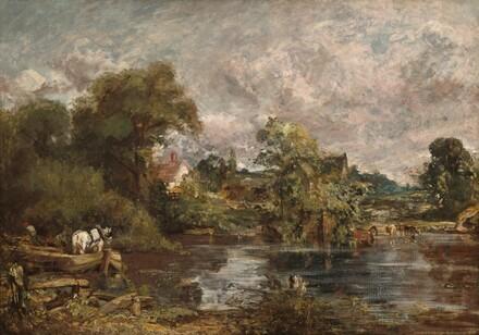 John Constable, The White Horse, 1818-18191818-1819