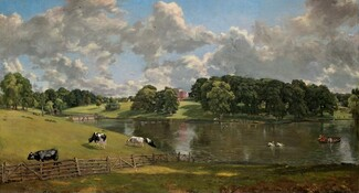 John Constable, Wivenhoe Park, Essex, 1816