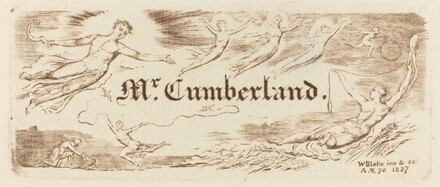 George Cumberland's Card