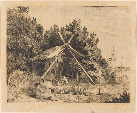 The Camp of Stothard, Blake, Ogleby