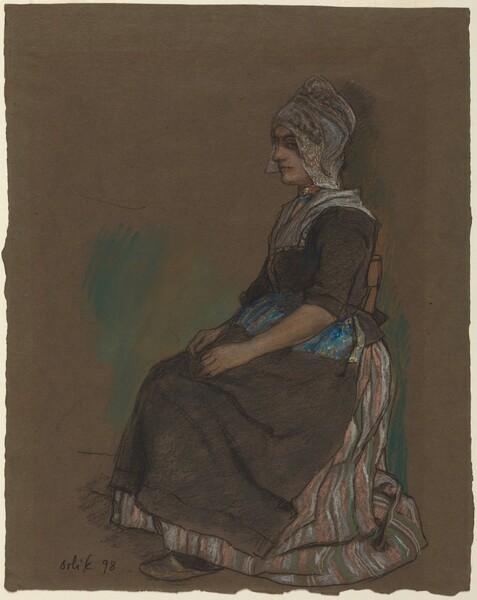Volendam Girl in Costume