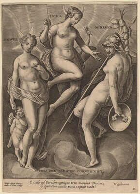 Venus, Juno and Minerva
