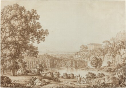 Arcadian Landscape with a Doric Temple