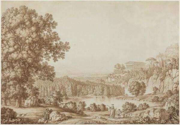Arcadian Landscape with a Doric Temple
