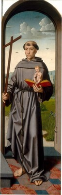 The Saint Anne Altarpiece: Saint Anthony of Padua [right panel]