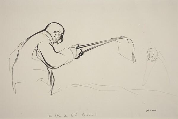 M. Clemenceau.  La lettre du Cte Czernin
