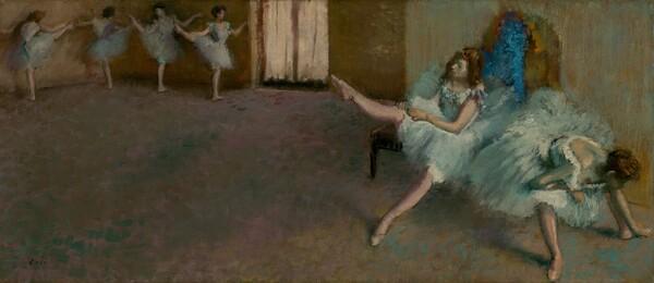 バレエの前