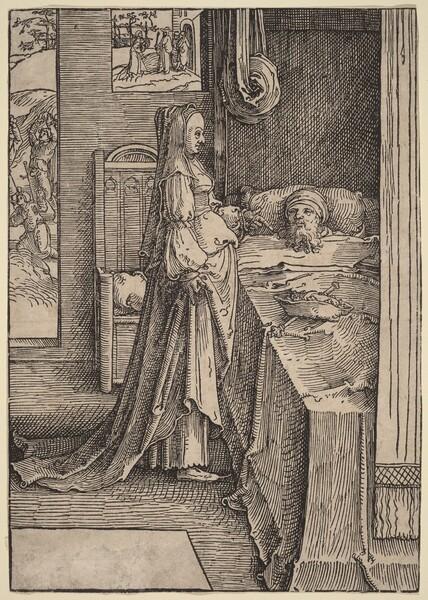 Jezebel Promising Naboth's Vineyard to King Ahab