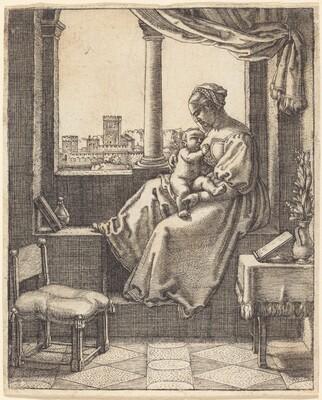 Virgin at the Window