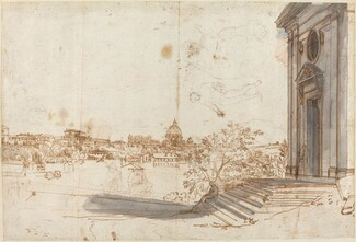 A View of Rome from Santa Maria del Priorato