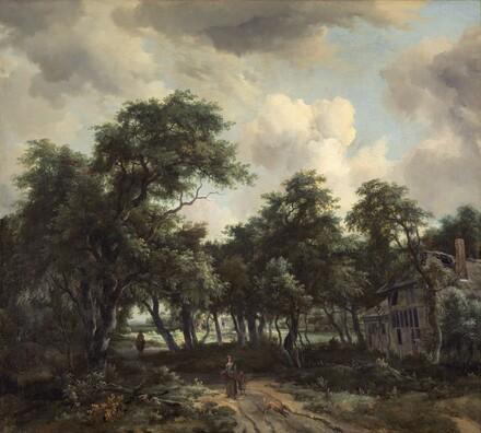 Hut among Trees