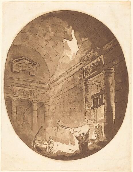 Interior of a Roman Villa
