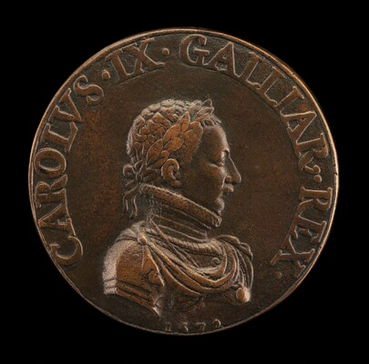 Charles IX, 1550-1574, King of France 1560 [obverse]