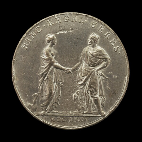 Juno Sealing Marriage Pact with Jupiter [reverse]
