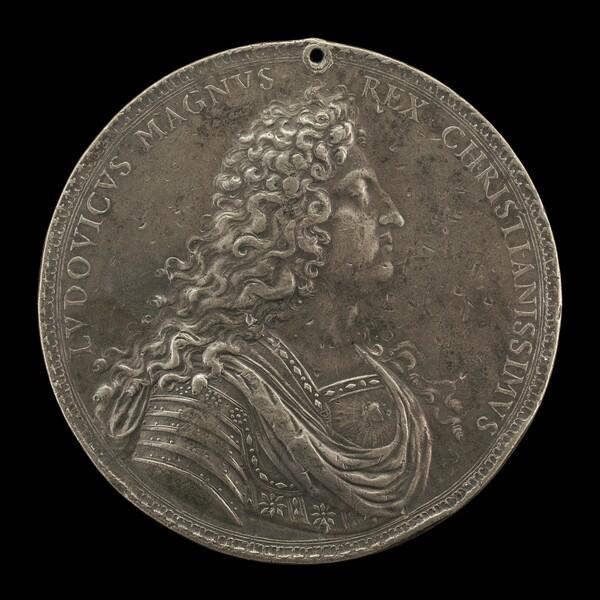 Louis XIV, 1638-1715, King of France 1643 [obverse]