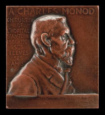 Alexandre-Charles Monod, 1843-1921, Surgeon at L'Hôpital de St-Antoine [obverse]