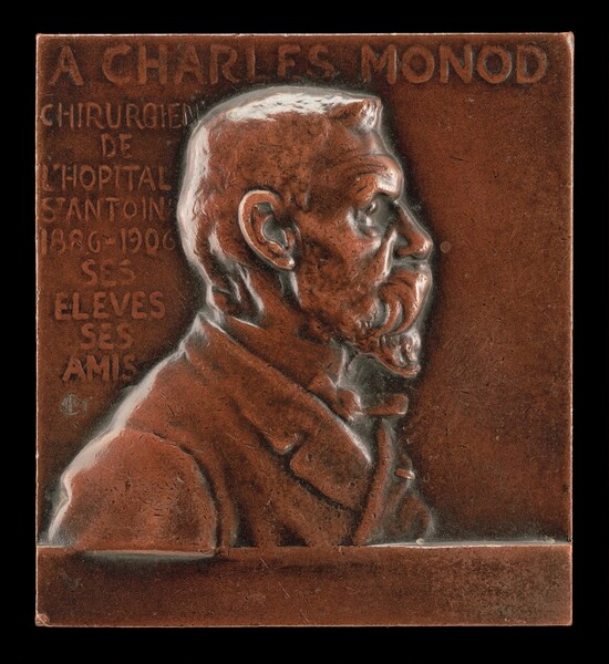 Alexandre-Charles Monod, 1843-1921, Surgeon at L'Hôpital de St-Antoine [obverse]