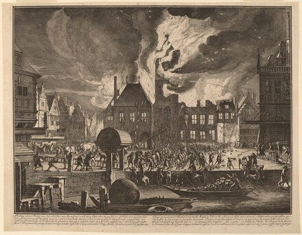 Burning of the Old Amsterdam Town Hall