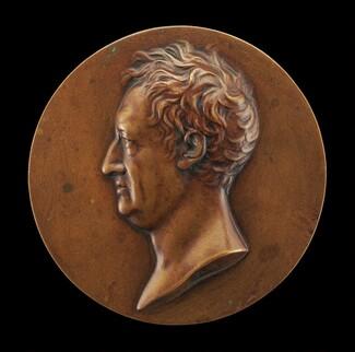 Johann Wolfgang von Goethe, 1749-1832 [obverse]