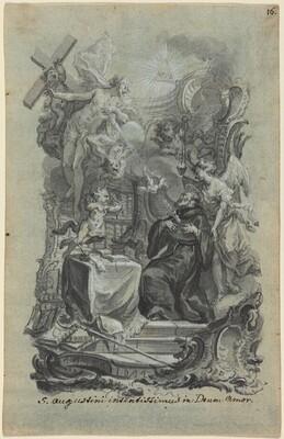 Saint Augustine's Zealous Love of God