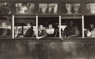 Robert Frank, Trolley—New Orleans, 19551955