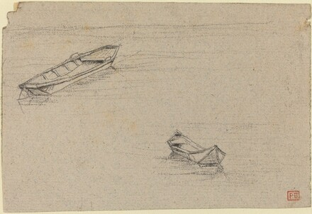 Two Boats for L'Abside de Notre-Dame de Paris