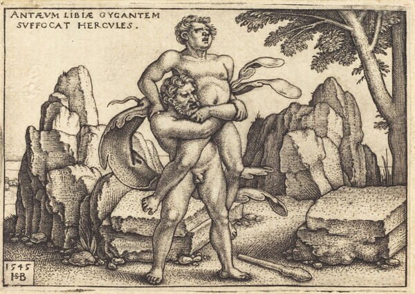 Hercules Killing Anthaeus