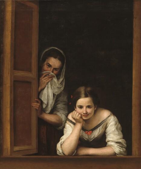 Bartolomé Esteban Murillo, Two Women at a Window, c. 1655/1660