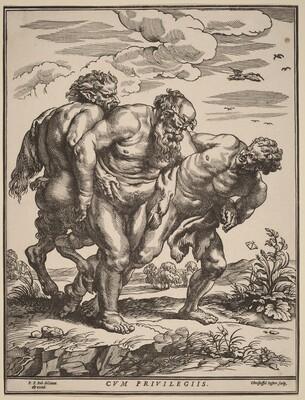 Silenus Accompanied by a Satyr and a Faun