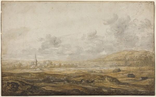 Panoramic Landscape along the Rhine