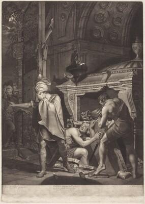 Miravan Opening the Tomb of His Ancestors