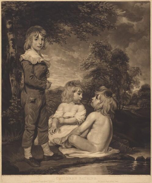 Children Bathing (The Hoppner Children)