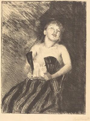 Girl in a Corset (Mädchen im Korsett)